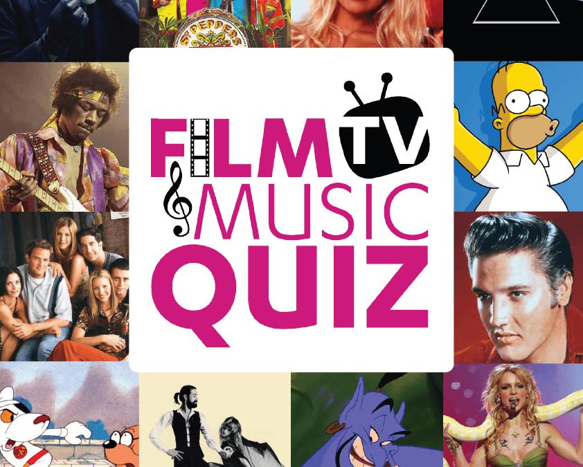 Film TV Music quiz Poster Ipswich