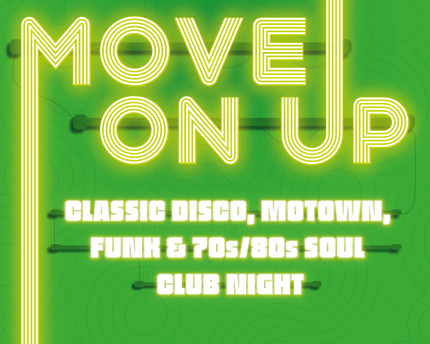 Move On Up Ipswich Poster
